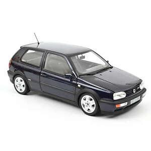 VW Golf VR6 1996 - Blau metallic - 1:18 - Norev (188462)