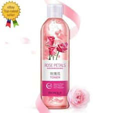 Rose Petals Essence Water Face Toner Shrink Pores Anti-Aging Whitening Skin Care