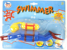 Scuba Diver Swimmer Swimming Wind-Up Bathtub Pool Water Toy