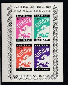 Cinderella   Calf of Man  Europa 1965  Block  ** (mnh)
