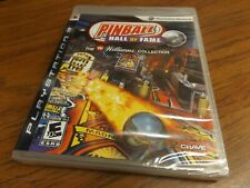 Pinball Hall of Fame: The Williams Collection (PlayStation 3 PS3) NEW SEALED!