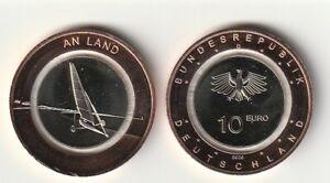 """10 Euro Deutschland """"AN LAND"""" 2020 Prägeanstalt MÜNCHEN (D)"""