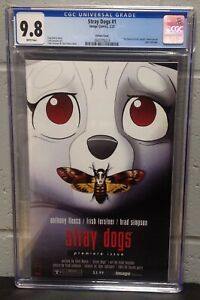 IMAGE - STRAY DOGS #1 - SILENCE OF THE LAMBS VARIANT - CGC 9.8