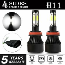 4-side H11B LED Headlight Bulb for Kia Forte 2010-2013 Optima 2007-2015 Low Beam