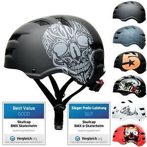 SkullCap® der Skaterhelm & Fahrradhelm für Kinder, Damen, Herren BMX Helm Skater
