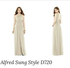 Alfred Sung D720 Prom Bridesmaid Evening Gown (Size 22, Palomilo) Retailed £195