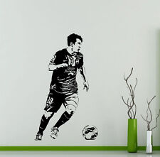 Lionel Messi Wall Decal Barcelona Football Sports Vinyl Sticker Decor Mural 49ft