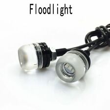 2pcs Motocycle Flood Light DRL Eagle Eye Daytime Running Light LED Car Lamp Sale