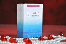 ESCADA INTO THE BLUE EDP 50ml., Discontinued, Rare, New in Box Sealed