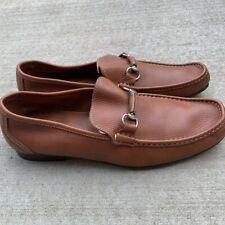 Sandrino Sandro Moscoloni Leather Horsebit Men's Loafer