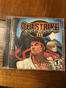 Street Fighter III: 3rd Strike (Sega Dreamcast) Tested, Working, Authentic