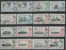 Elizabeth II (1952-Now) Used Tristanian Stamps