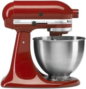 KitchenAid Artisan Series 5 Quart Tilt-Head Stand Mixer KSM150PSBM RED