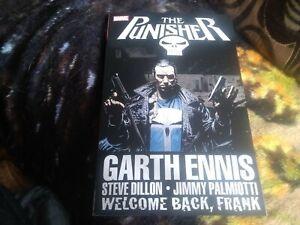 Marvel. The Punisher. Welcome Back Frank. Graphic Novel. 2016