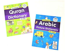 Quran Dictionary for Kids / Arabic Picture Dictionary for Kids - 2 Books (PB)