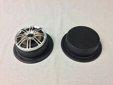 6.5 Speaker Pods - Flat, Round With Bottom and Mounting Flange