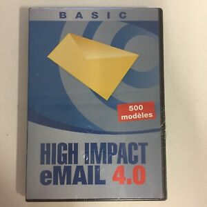 High Impact eMail 4.0 Logiciel neuf sous blister