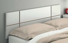 Cabecero cabezal 150cm color blanco brillo de dormitorio cama matrimonio