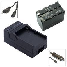 Akku + Ladegerät für SONY NP-F970 F-970 F960 F750 F550 F330 - 6600mAh | ACCU
