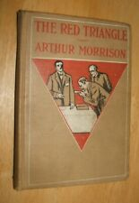 The Red Triangle Arthur Morrison Martin Hewitt Short Stories First Edition