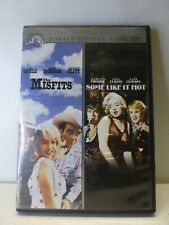 The Misfits/Some Like it Hot Double Feature 2-Dvd Set Marilyn Monroe