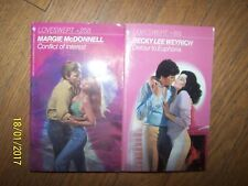 Lot 2 LoveSwept Soft Books by Margie McDonnell & Becky Lee Weyrich