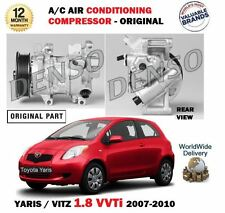 FOR TOYOTA YARIS 1.8 VVTi 2007-2010 NEW AC AIR CONDITIONING CON COMPRESSOR