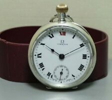 Analog Swiss Made Silver Pocket Watches