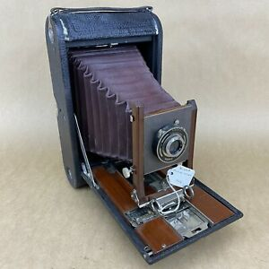 Kodak No. 4A Antique 1906 Red Bellows Prototype Camera
