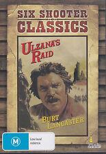 Ulzana's Raid (DVD, 2012) Burt Lancaster Six Shooter Classics 1972 Western
