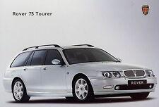 Rover 75 Tourer Prospekt 3 01 brochure 2001 Autoprospekt Auto PKWs England