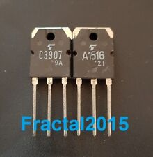 1 paire 2SA1516 2SC3907 A1516 C3907 TO-3P