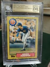 2019 Topps Baseball Greg Maddux Chicago Cubs 150 All-Time Greats 1987 Rookie 1/1