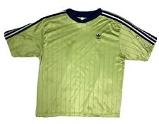 Adidas Vintage Soccer Jersey Lime Green - Xl - 1990's
