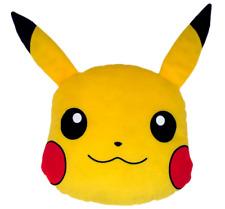 """NEW Pokemon Pikachu Throw Pillow - Yellow (12"""")"""