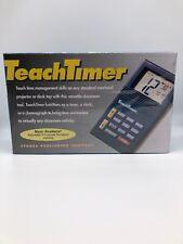 Stokes 229 TeachTimer Overhead Clock Timer Chronograph Classroom or Outdoor