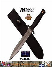 "Pig Sticker.  MTech  USA Fixed  Blade  Knife 11.25"" Overall"