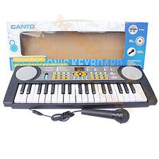 PETIT PIANO ELECTRONIQUE CLAVIER SYNTHETISEUR POUR ENFANTS 37 TOUCHES JOUET