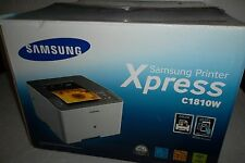 Samsung Xpress C1810W Printer Wi-Fi Direct USB 9600x600 NFC Tap AirPrint 19ppm