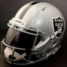 ***CUSTOM*** OAKLAND RAIDERS NFL Riddell Revolution SPEED Football Helmet