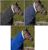 LeMieux FOUR SEASONS Thermal Wicking Travel/Stable/Cooler HOOD Neck Cover S-XL