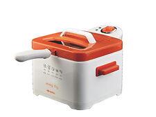 Friggitrice Ariete Easy Fry arancione smontabile no odori 2,5 l 2000w 4611 Rotex