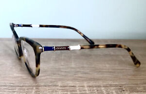 Eyeglasses Frame Gucci FD0530 Cat Eye Tortoise Gold Clear Lens New Authentic