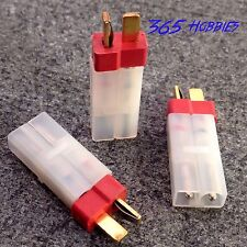 QTY-(3) Male Deans to Female Tamiya Connector Adapter Brushless LiPO Charger
