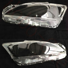 2x For Lexus CT200h 2011-17 LEFT+Right Headlight Transparent Cover Hardening PC