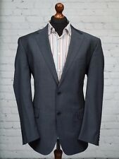 M&S Collezione Jacket Blue Wool Blend Single Breasted 44R