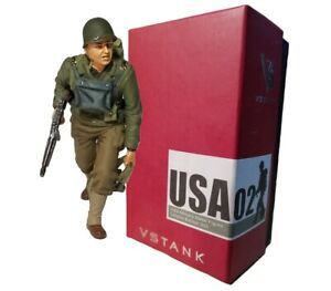 VSTank Military US Infantry Ranger Soldier 1/24 Metal Collectible Figure (USA02)