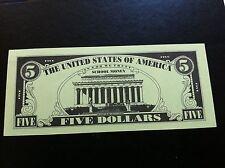 EXTRA RARRE -SCHOOL MONEY - FIVE-  5 DOLLARS 1997 !!!