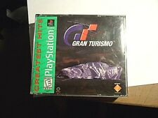 Gran Turismo (PlayStation, 1998) GREATEST HITS FATBOX CLEAN W/ CASE NO MANUAL
