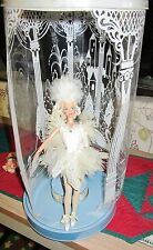 Swan Lake Barbie Odette 1991 Ballerina Music dance Doll Stand & backing